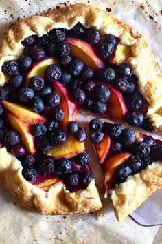 Summer Desserts, Summer Recipes, Holiday Recipes, Tart Recipes, Sweet Recipes, Blueberry Galette, Blueberry Season, Galette Recipe, Eat Seasonal