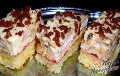 Czech Desserts, Sweet Desserts, Sweet Recipes, Cake Recipes, Dessert Recipes, Albanian Recipes, Cheesecake, Mets, Calories