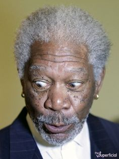 Oh hi Morgan Freeman