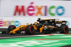 Carlos Sainz Photos - Carlos Sainz of Spain driving the (55) Renault Sport Formula One Team Renault RS17 on track during practice for the Formula One Grand Prix of Mexico at Autodromo Hermanos Rodriguez on October 27, 2017 in Mexico City, Mexico. - F1 Grand Prix of Mexico - Practice