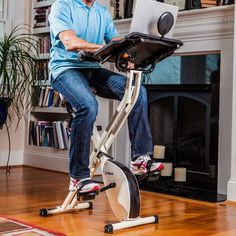 Productivity Exercise Bike by FitDesk #Bike, #Exercise, #Fitness