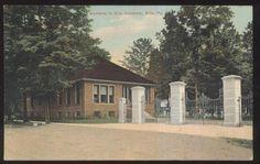 Postcard Erie Pennsylvania PA Cemetery Entrance Gate View 1907 | eBay