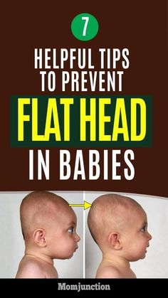 7 Helpful Tips To Prevent Flat Head In Babies : You could just spend hours staring at this marvel. Every part of the body is so adorably perfect. What about the head? Is it round or flat? A flat head is common in newborns. But, why do babies ha Newborn Schedule, Baby Supplies, Flat Head, After Baby, Baby Health, First Time Moms, First Kid, First Baby, Newborn Care
