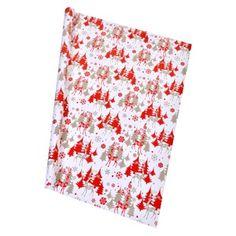 Χριστουγεννιάτικο Ρολό Περιτυλίγματος 70cm x 1m < Χαρτί Περιτυλίγματος   Jumbo Floral Tie, Rolo