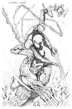 Spider Wolverine by Sandoval-Art.deviantart.com on @deviantART