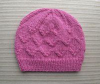 Ravelry: Hat в летящих птиц стежок размеры 12-18 месяцев и рисунка для взрослых Елены Чен