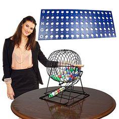 Royal Bingo Supplies Professional Bingo Set by Royal Bingo Supplies - tips ticket Bingo Set, Bingo Games, Bingo Night, Dont Settle, At Home Gym, Elite Socks, Wooden Handles, Vintage Tees, Discount Furniture