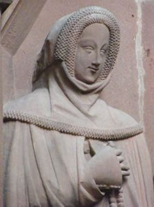 Margareta of Rienneck 1364 Germany Wertheim Stiftskirche