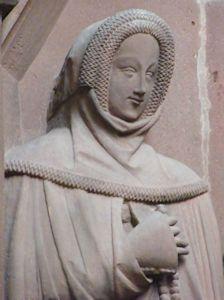Margareta of Rienneck 1364 Germany Wertheim Stiftskirche