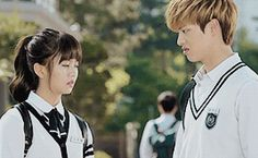 Who Are You: School 2015 | Kim So Hyun | Yook Sung Jae | Kdrama | Gif