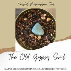 Aventurine Crystal Infused Tea Chocolate Chai Blend