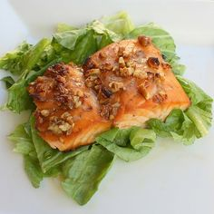 Tuesday, October 7, 2008     This is so easy and so good. We eat this salmon at least onceevery twoweeks.Dont let the fact that this is a Weight Watchers recipe fool you, its delish. Even my family, who arent big fish eaters, love this meal.
