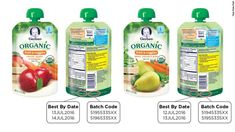 Gerber Products Company is voluntarily recalling two organic baby foods because a packaging defect may make them susceptible to spoilage during transport and handling, the U.S. Food and Drug Administration and the company said Thursday.    #foodrecall #sp