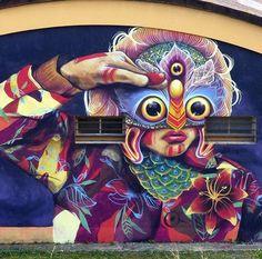 Gleo - Colombia #art #graffiti #mural #streetart www.arteymuros.com