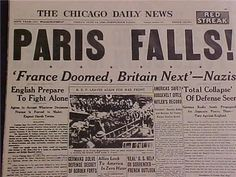 Image result for newspaper headlines paris