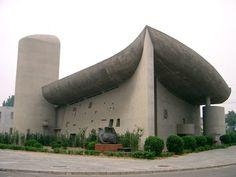 "plagiarismisnecessary:  "" Unknown Architect  Ronchamp Chapel, Zhengzhou, China (1994)  """