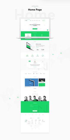 Netguru's new website with the company's new corporate identity. Like the new CI?