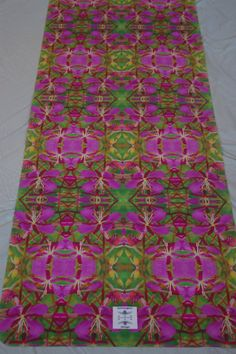 Fireweed Hot Yoga Towel Mat by SymmageryYogaMats, $79.00