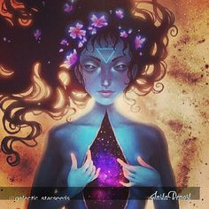 Express your inner beauty and the universe will reflect it back upon you.