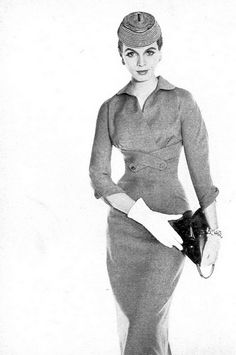 1950s fashion- suit (1953)