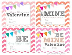 Free Valentine Printables  |  Just Sweet and Simple