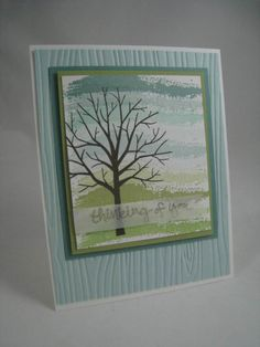 Sheltering Tree- Stampin' Up by Miechelle Weber