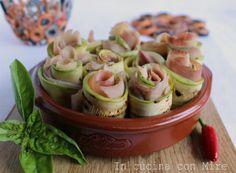 #gialloblogs #ricetta #foodporn #foodie Involtini di zucchine light   In cucina con Mire