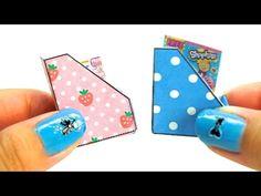 miniature dollhouse magazine holder tutorial l Dollhouse DIY ♥ - YouTube