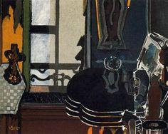 Salon - Georges Braque 1944 French 1882-1963 ══════════════════════ BIJOUX DE GABY-FEERIE ☞ http://gabyfeeriefr.tumblr.com/ ✏✏✏✏✏✏✏✏✏✏✏✏✏✏✏✏ ARTS ET PEINTURES - ARTS AND PAINTINGS ☞ https://fr.pinterest.com/JeanfbJf/pin-peintres-painters-index/ ══════════════════════