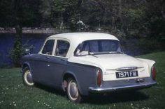 1963 Hillman Minx 1600, my first car.