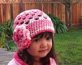 Crochet hat pattern - Scalloped edge sun hat - Instructions to make super cute and easy girls hats - baby toddler child teen adult. $3.99, via Etsy.