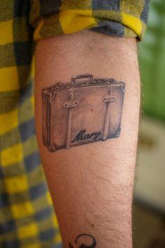 Koffer-tattoo