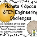 Can your students engineer topics related to the Planets and Space?  Try these five STEM Engineering Challenges to find out!  The Five Challenges I...