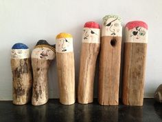 """Cute wooden pirates - image shared by I'm a Teacher, Get Me OUTSIDE here! ("""",)"""