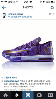 Black History Month KDs :) it show the texture of the color of the shoes Kd Shoes, Cute Shoes, Me Too Shoes, Shoes Style, Nike Shoes Cheap, Nike Shoes Outlet, Kids Clothing Rack, Kevin Durant Shoes