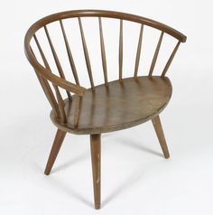 danish spindle back windsor chair