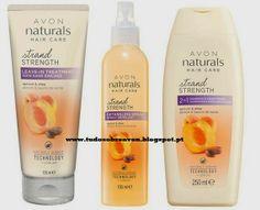 Tudo sobre Avon: Novos Avon Naturals - Strand Strength