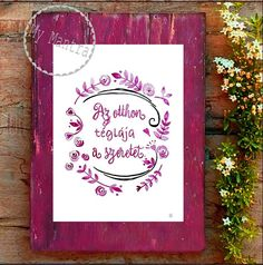 #akvarell #képek---inspiráló és pozitív #idézetek gondolatok #bölcsességek szavak #szerelem #love #lakberendezés #design #dizájn Love Home, Wall Sticker, Hungary, Tao, Diy And Crafts, Sweet Home, My Love, Paper, Creative