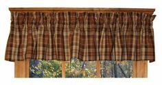 Homestead Plaid Tailored Valance Curtain 80-Inch-by-13-Inch, Apple Green - 3 Inch Rod Pocket by Window Toppers. $26.00. 80 inches wide overall, accommodates 30-45 inches of window width. choice of 1 1/2 inch or 3 inch rod pocket. many coordinating items available. Made in the USA !. 55% linen / 45% cotton medium weight woven plaid fabric. Plaid Print Tailored Shirred Valance Curtain ! Homestead Plaid Tailored Valance window curtain is made from high quality med...
