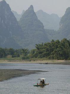 Li River, Guilin, Guangxi Province, China, Asia