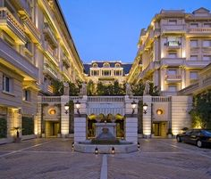 Hotel Metropole, Monte Carlo in Monaco, Monte Carlo Monaco, Marriott Hotels, Hotels And Resorts, Luxury Hotels, Places Around The World, Around The Worlds, La Madone, Leading Hotels, Luxury Accommodation