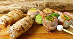 Gourmet: Blinde Vinkjes met spruitjes bacon spies