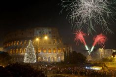 Double Free Street Party in Rome For New Year's Eve 2014/15