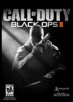 Call Of Duty Black Ops 2, um jogo de tiro em primeira pessoa mais comum em modo multiplayer em que vc desbloqueia leveis armas e equipamentos que vc pode utilizar combatendo outro inimigos pelo resto do mundo