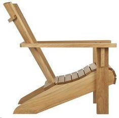 simple wooden low adirondack chairs - Google Search More #AdirondackFurniturebackyards