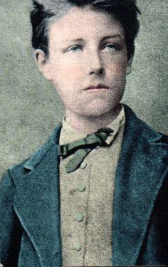 Jean Nicolas Arthur Rimbaud age 17, likely in December 1871
