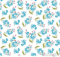 Картинка с тегом «blue, flowers, and patterns»