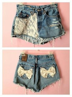 Lace Decorated Shorts