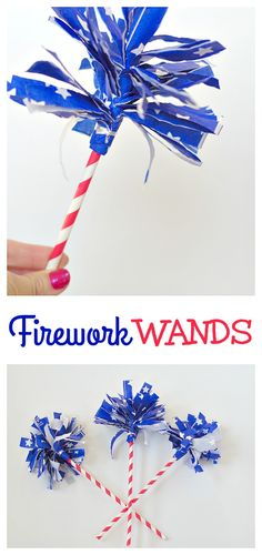 Firework Wands! Make
