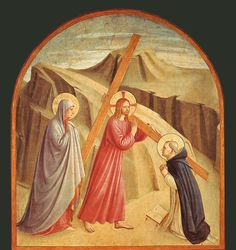 Convent of San Marco - Florence. Fra Angelico - Christ Carrying the Cross.